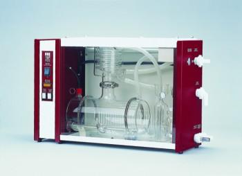 Wasserdestillierapparat aus Glas, 8 l