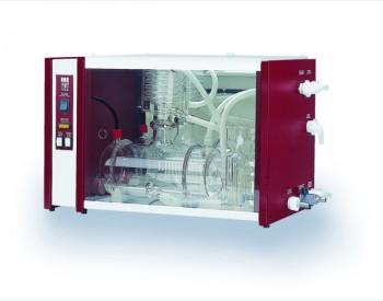 Bi-Destillierapparat aus Glas